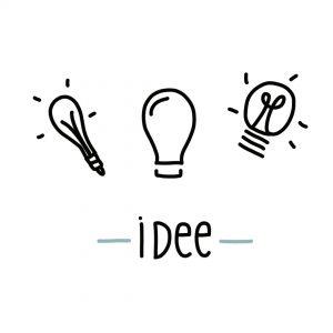 hoe teken ik een idee